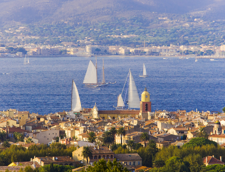 saint: Saint Tropez city view