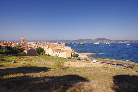 tropez: Saint Tropez city view