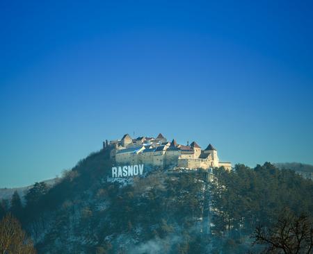 citadel: Rasnov castle and fortress in Romania
