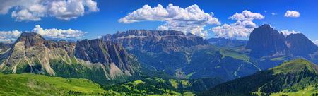 Breathtaking summer landscape in Dolomites, Italy
