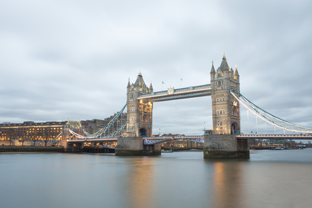Tower Bridge in London city