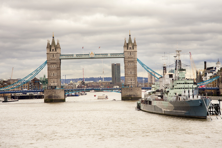 London city with Tower Bridge
