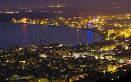 city of Rosas, Costa Brava. Spain, sea coast Stock Photo