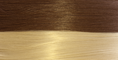 blond and brown hair texture 스톡 콘텐츠 - 105799405