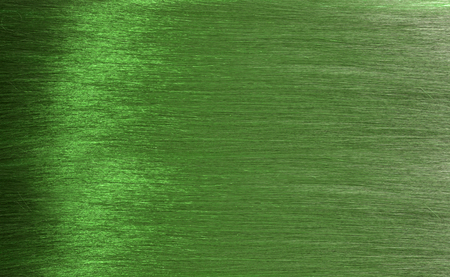 green hair texture in detail, closeup Stock Photo