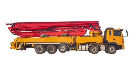 Concrete Pump Truck Stock Photos And Images - 123RF