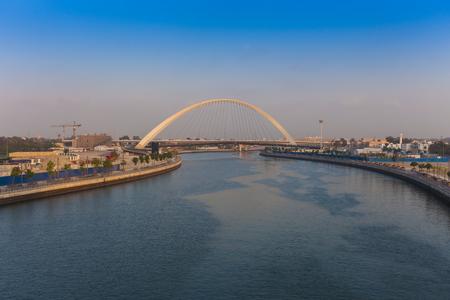 Tolerance Bridge in Dubai city, UAE