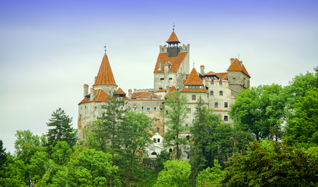 Bran Castle of Dracula, Transylvania. Romania