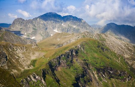 Negoiu peak 2535m is the second highest peak in Romania. Fagaras mountains Imagens