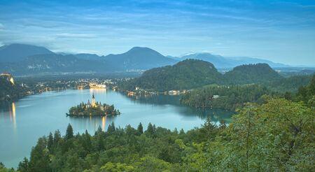 lake Bled in Slovenia, Europe landscape Reklamní fotografie