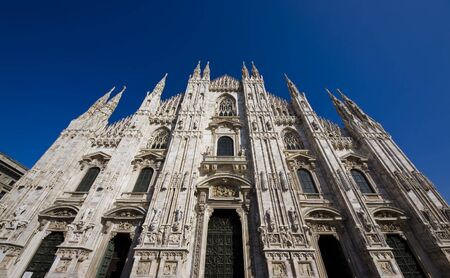 the Dome of Milan in Italy