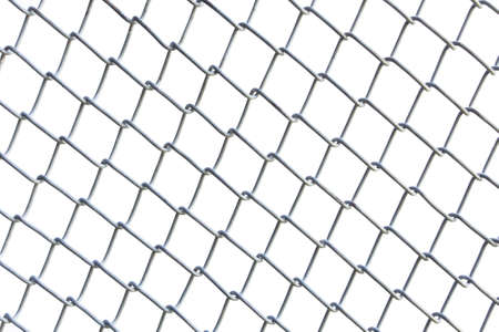 wire mesh netting isolated on white background