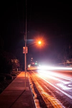 Light Trail Fast Speed
