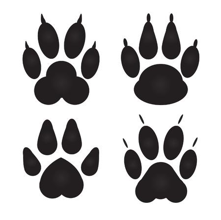 Verschillende kat, hond de Drukken Vector Illustratie