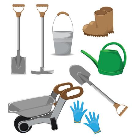 wellingtons: Garden tools