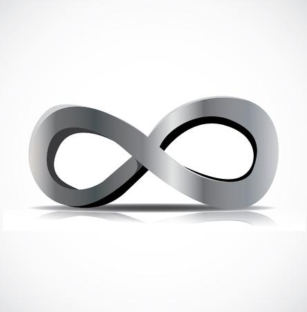 infinity symbol: Infinity symbol vector Illustration