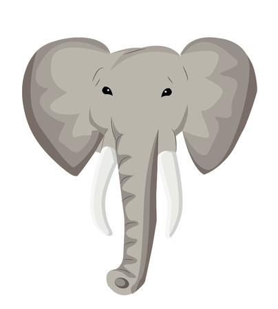 oversized: Elephant head