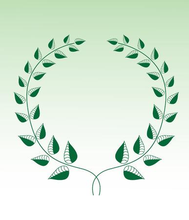 elites: Green Laurel wreath
