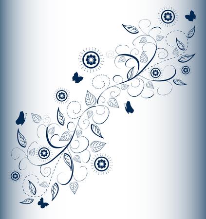 blumen abstrakt: floral abstract design