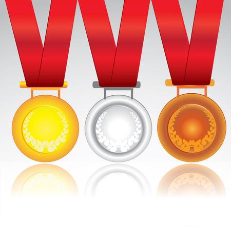 medals: Vector medals