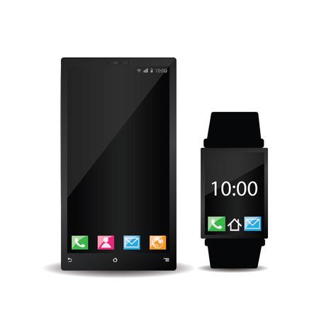 smart: Smartphone and smart watch