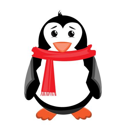 iciness: Penguin illustration
