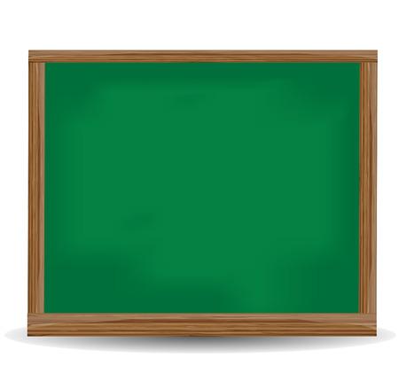 green chalkboard: Green chalkboard  blackboard. Illustration