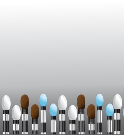 makeup brushes: Makeup brushes