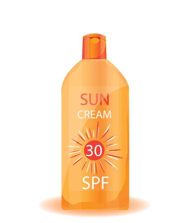 suntan cream: Suntan cream
