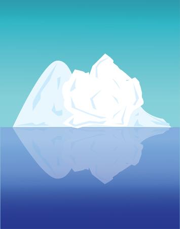 arctic landscape: Arctic landscape Illustration