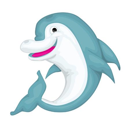 kiddish: Cartoon dolphin