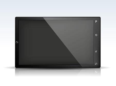 pc: Tablet PC Illustration