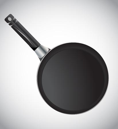 browning: Frying pan, vector