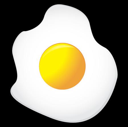 huevos revueltos: Huevos revueltos Vectores