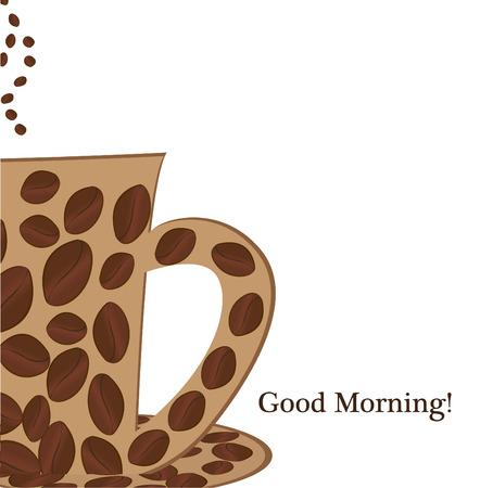 good break: coffee cup good morning
