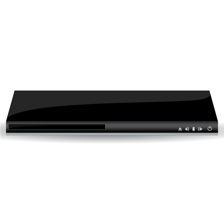 dvd player: dvd player vector