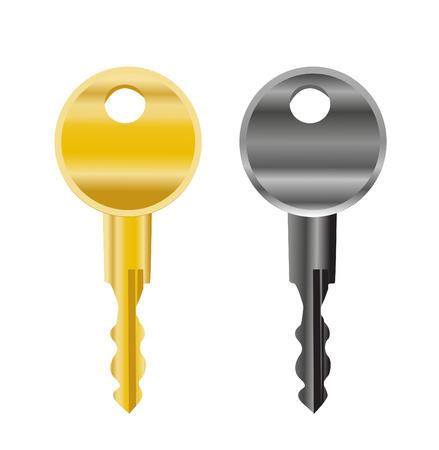 콘도: vector illustration of keys 일러스트
