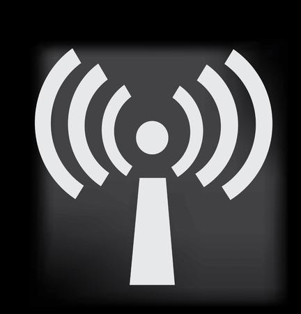 wireless: Wireless icon Illustration