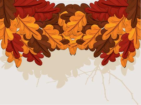 oak leaves: Oak leaves