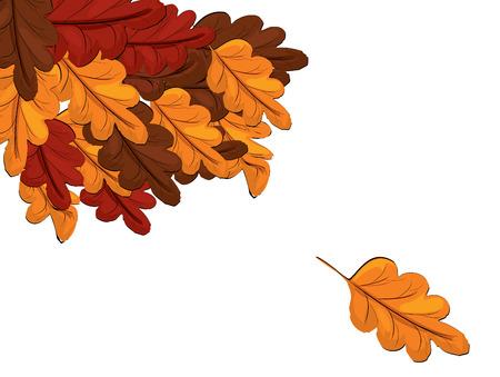 shedding: Autumn leaves