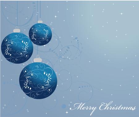 ornamented: Ornamented Christmas balls Illustration