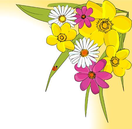 romantic: romantic floral background