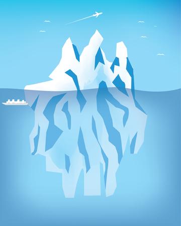 arctic: Arctic landscape Illustration