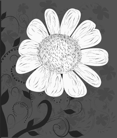 posterity: vector flower background... Illustration