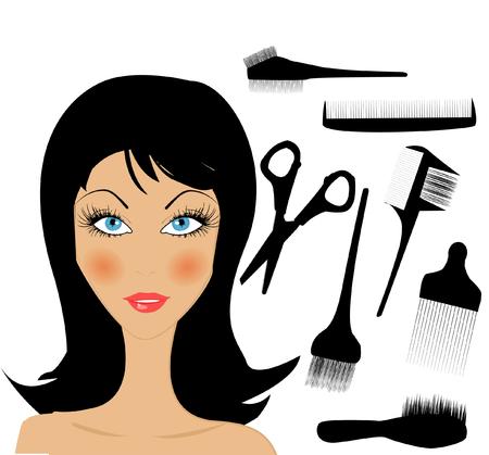 hair style: Hair Style Beauty Elements