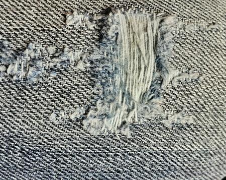 denim: Denim jeans with tare in them