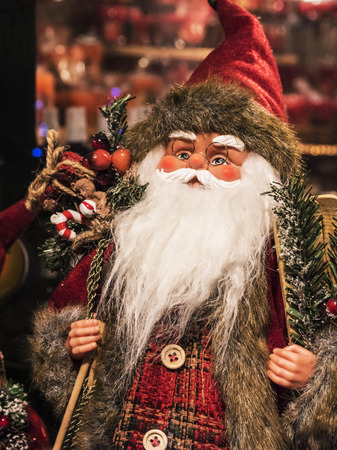 サンタ クロースがやってきました、クリスマスの準備ができて