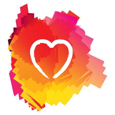 Modern valentines heart Stock Photo - 4233855