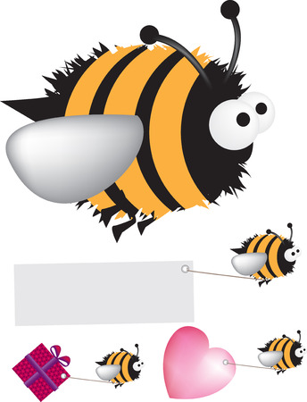 Bee Stock Vector - 4525941