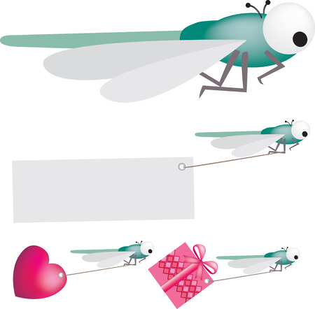 Dragonfly Stock Vector - 4525923